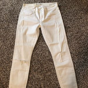 NWT Henry & Belle White Ideal Ankle Skinny Jeans